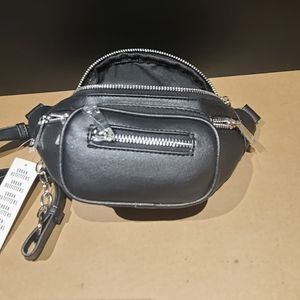 Urban outfitters black hip bag